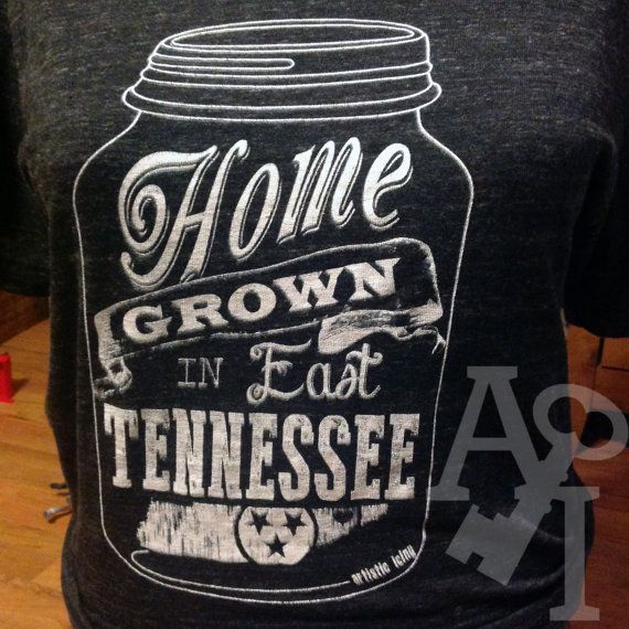 Home Grown in East Tennessee T Shirt by artisticicing on Etsy, $26.00