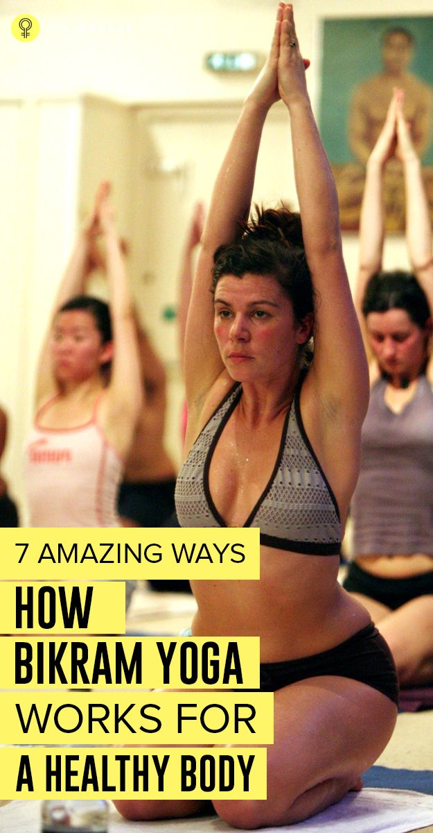 #Bikramyoga is a sequence of 26 yoga postures and 2 breathing exercises done within 90 minutes in a room with 105 degrees F temperature ..