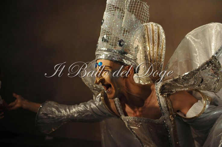 Chris Channing: Master of Ceremonies at 'Ballo del Doge' 2011. Venice Carnival behind closed doors. Antonia Sautter design/event