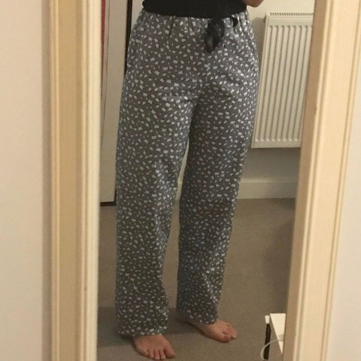 I made this pair of Ultimate Pyjamas s a few weeks ago