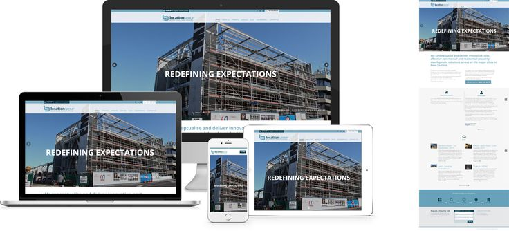 Forge Online creates yet another stunning example of contemporary and functionally powerful Open Source website design for Location Group.
