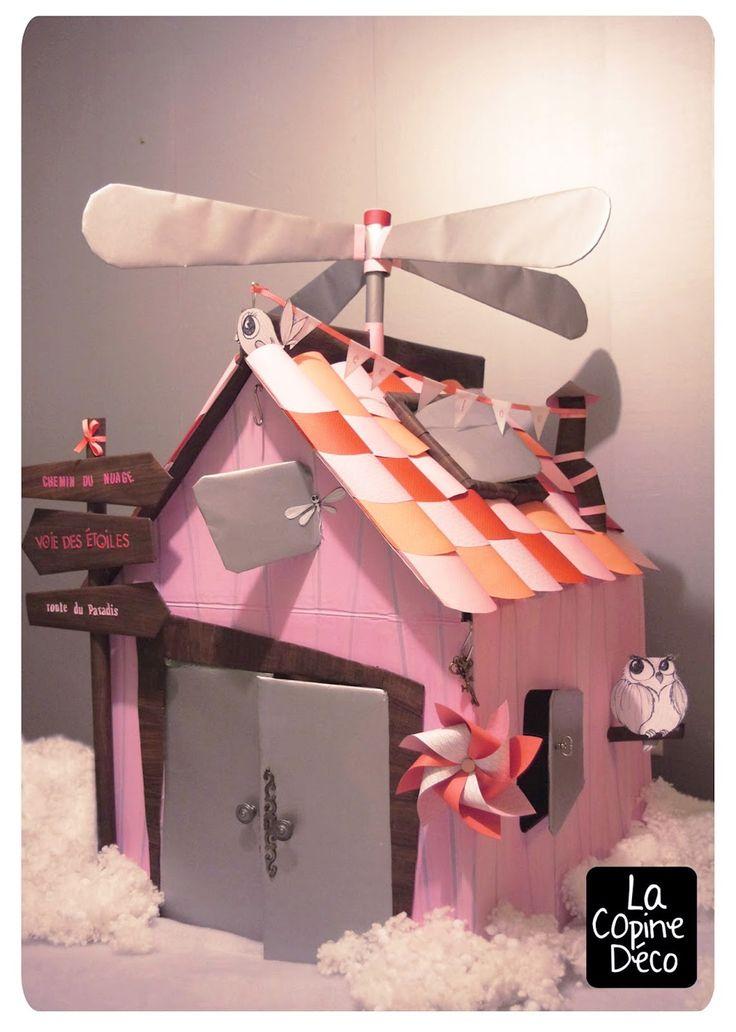 Chez cette Fille: Chez Lee-lou... Day #7: La Cabane en carton