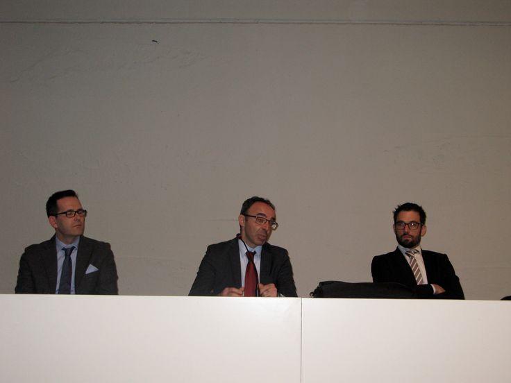 Carmine Barlotti, Gabriele Bramezza (Carel) e Roberto Golfetto (Ilcam spa e AILM Nord Est)