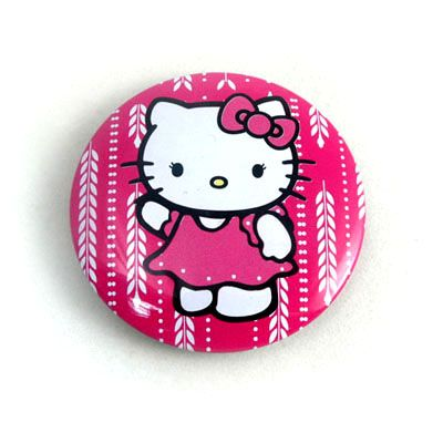 high quality small round tin badge