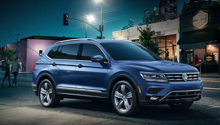 2019 Vw Tiguan Trim Level Feature Changes Volkswagen Vw Dealership Tiguan R Line