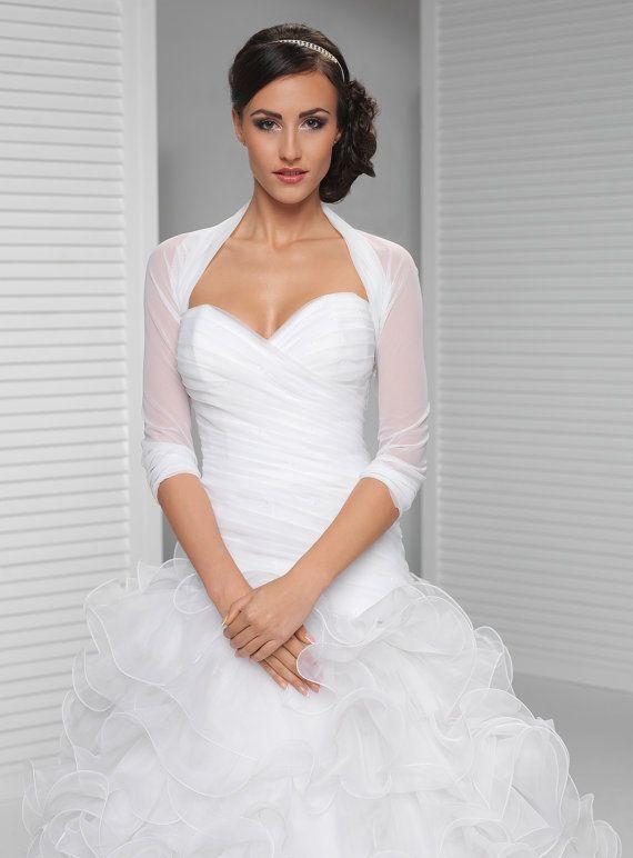 0a83033d991e6 Simple Bridal Cover Up   Simple Bridal Shrug   White, Ivory, Black   Wedding  ideas   Wedding jacket, Bridal shrug, Wedding dress shrugs