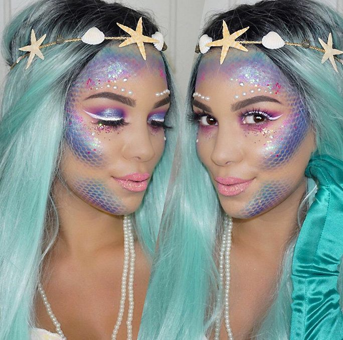 You Can Become an IRL Mermaid With This Makeup Tutorial