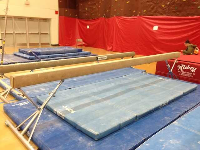 Used Vault Bars and Beam for sale from Hartland Wisconsin ... I have for sale the following used gymnastics equipment: I can sell the whole package for $2,700.00 aai Duel piston vault table ~ $1,800.00 aai classic uneven bars with a retro fit upgrade and 2 sets of rails ~ $700.00 Nissan full length adjustable beam ~ $800.00 Payment Forms: Money Order or Cashier Check Personal Check ...