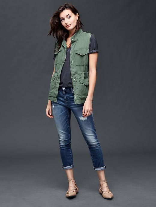 Tencel&#174utility vest Product Image
