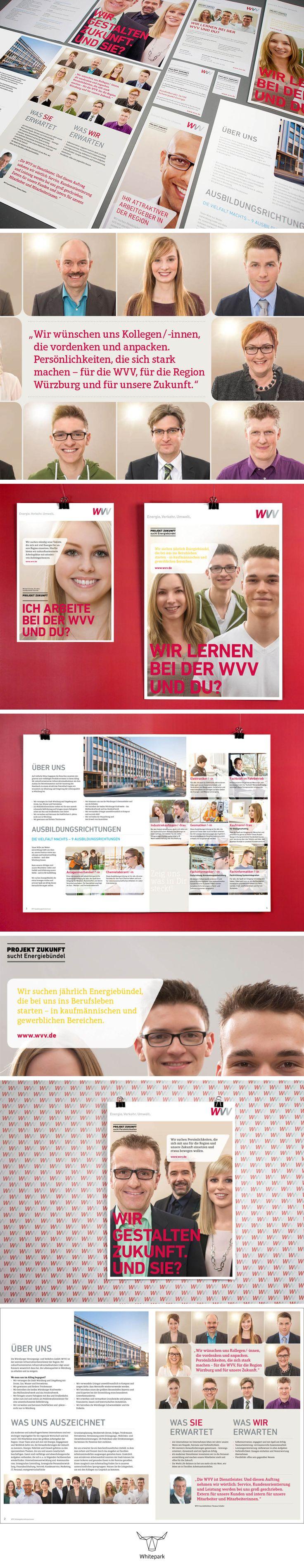 WVV Employer Branding Campaign / Kampagne © Whitepark #employerbranding #campaign #kampagne