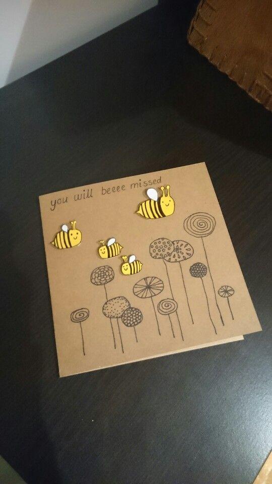 25+ unique Farewell card ideas on Pinterest Farewell invitation - goodbye note