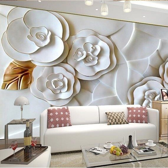 17 best images about wallpaper on pinterest watercolor for Cheap mural wallpaper