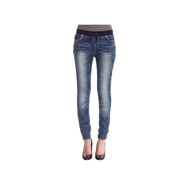Women's Skinny Knit Jeans Jogger 11, Blue