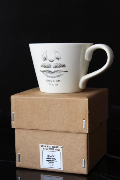 The Guvnor Handmade Mug & Gift Box