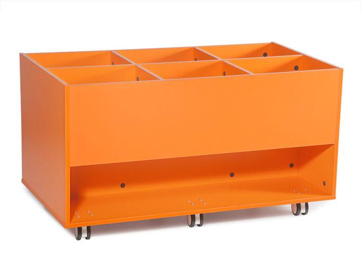 Beehive Book Box Trolley  #School #Storage