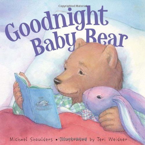 Goodnight Baby Bear by Mike Shoulders. Save 22 Off!. $12.44. 32 pages. Reading level: Ages 2 and up. Publisher: Sleeping Bear Press; 1 edition (February 4, 2010). Publication: February 4, 2010