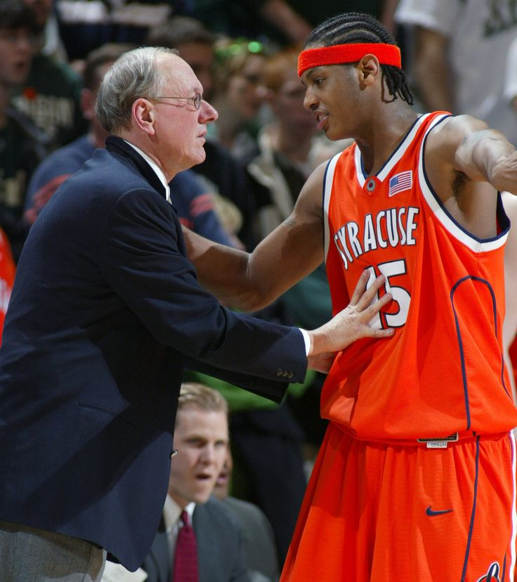 basketball coach cover letter%0A LAS VEGAS  u     Syracuse coach Jim Boeheim said he knew Carmelo Anthony was  wavering about playing