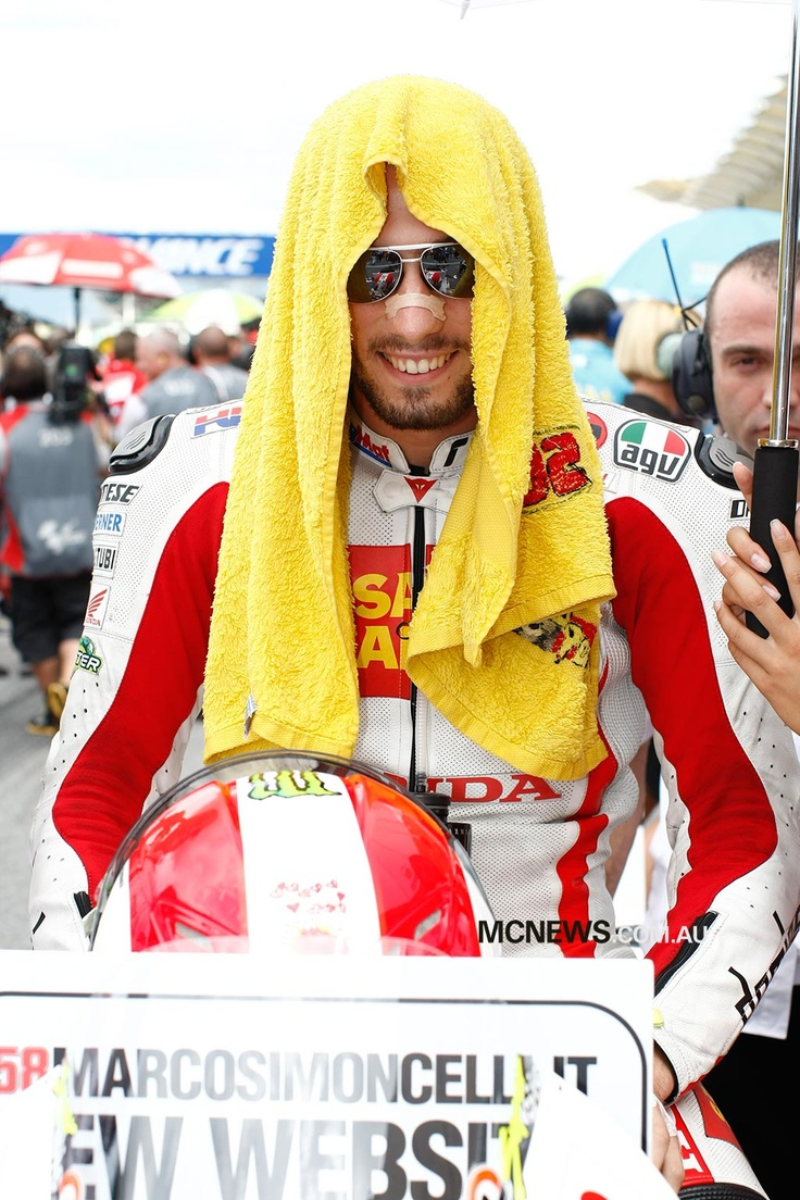 Marco Simoncelli - Great Rider. Great Guy. Greatly Missed.