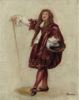 Pierre Auguste Renoir - Dorival Comme Le Bourgeois Gentilhomme