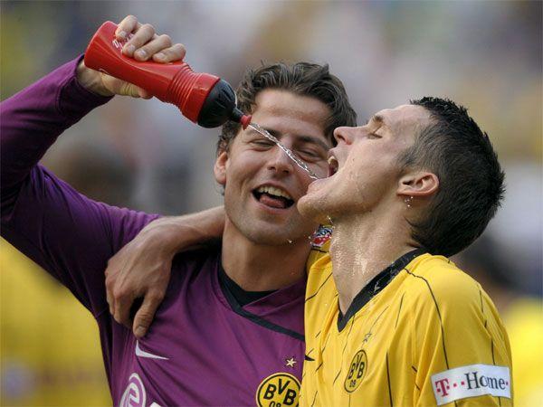 Roman Weidenfeller & Sebastian Kehl cooling off