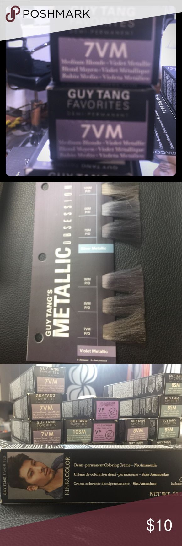 Kenra Guy Tang Metallica Hair color 7VM Trendy and sought after.. grab this Demi permanent line here at a bargain- overstock and brand new ... ask me anything I'm a hair stylist! kenra Other