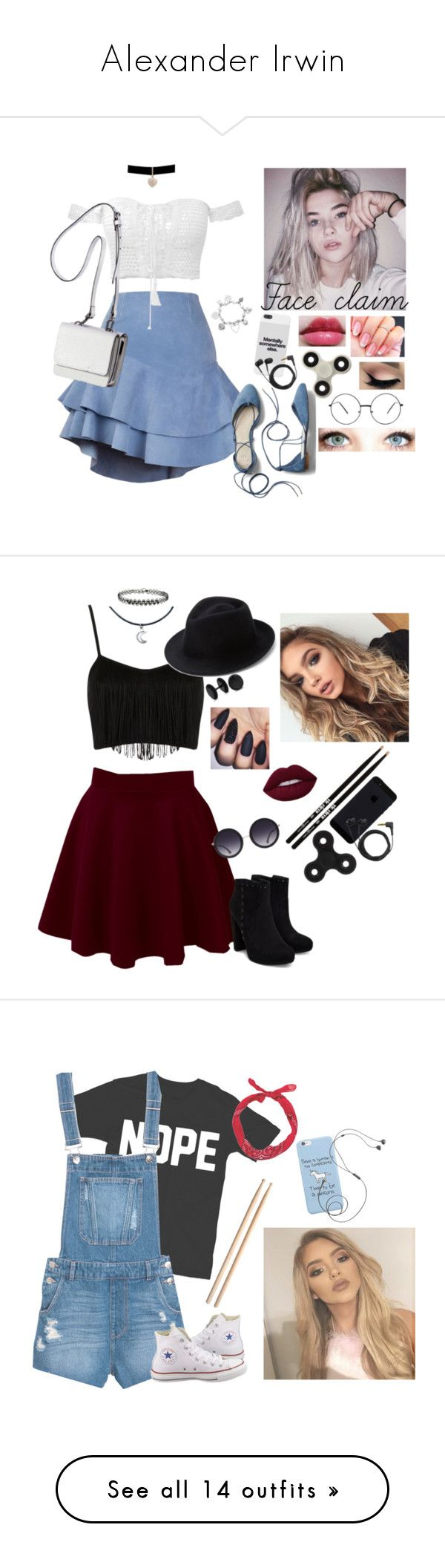 """""""Alexander Irwin"""" by r-e-n-0-g ❤ liked on Polyvore featuring KEEP ME, Siobhan Molloy, Gap, ChloBo, Betsey Johnson, Sennheiser, Monday, Revlon, Kendall + Kylie and Firth"""