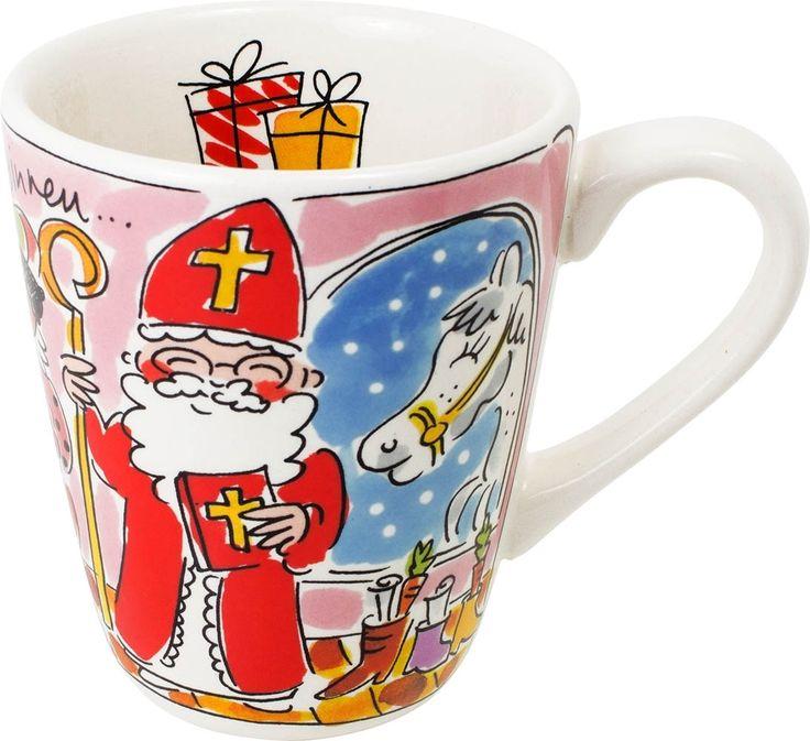 Sinterklaas komt en Blond heeft een heel leuke collectie servies met dit thema.