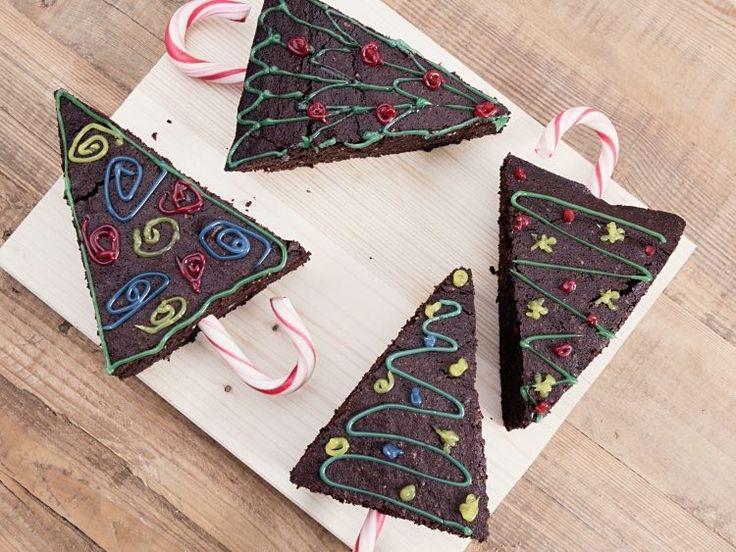 DIY-Anleitung: Weihnachtsbaum-Brownies backen