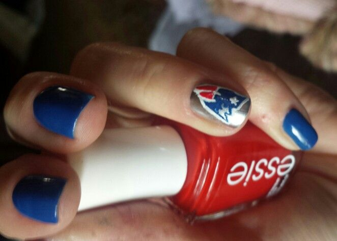 102 best Groovy nails images on Pinterest   Patriots football ...