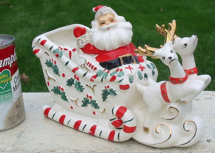 17 Best Images About Vintage Christmas Figurines On