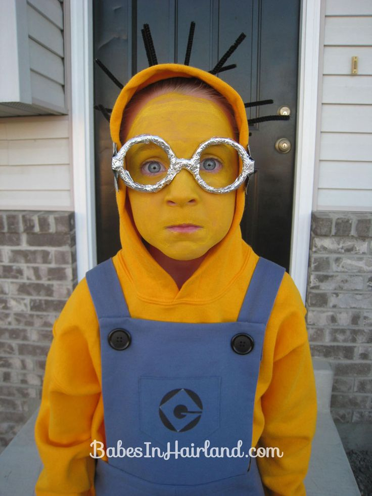 minion halloween costume college