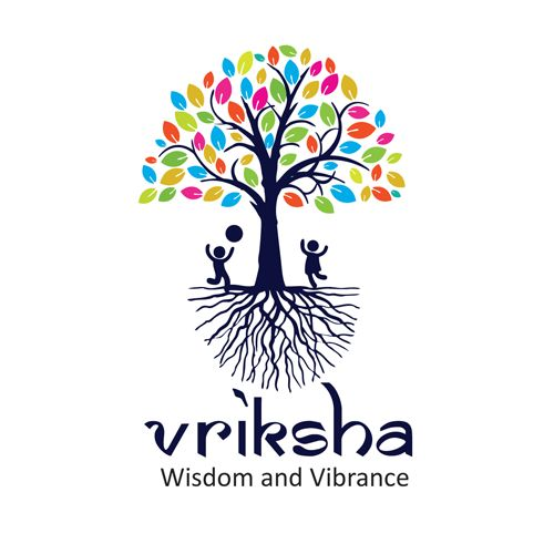 Pre school logo - The logo is an extension of the pre-school's core value system that stands by Global standards and Indian ethos.