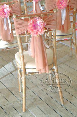 Свадебный декор для украшения стульев для выездной регистрации
