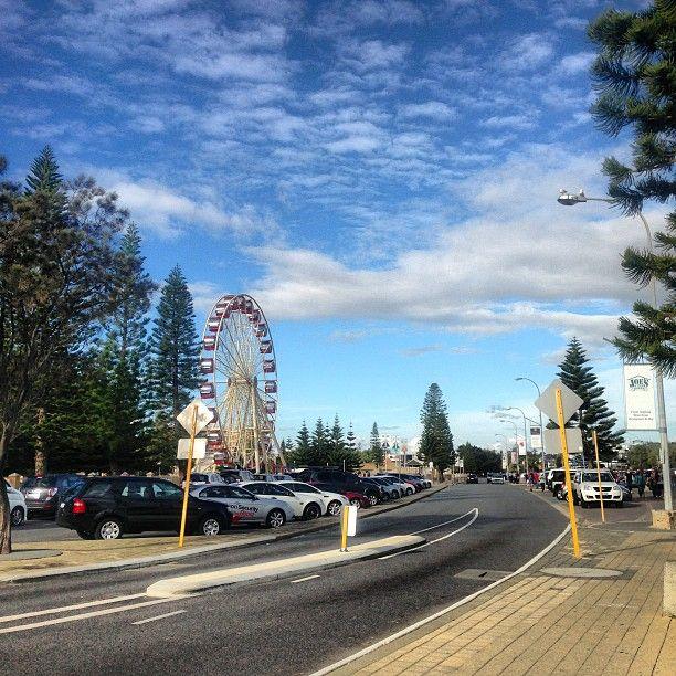 Fremantle Beach in North Fremantle, WA