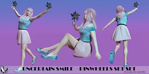 UNCERTAIN SMILE PINWHEEL SET | Flickr - Photo Sharing!