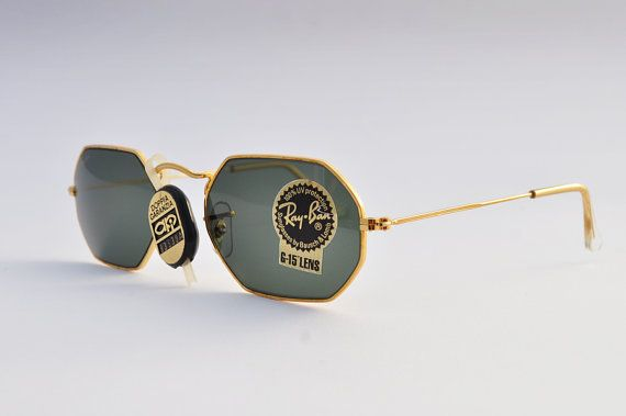 e623438761481 Rare Ray-Ban Vintage Sunglasses Bausch   Lomb - 80s Sunglasses - Original Rare  Vintage Sunglasses - Unisex Design - NBW - Made in USA