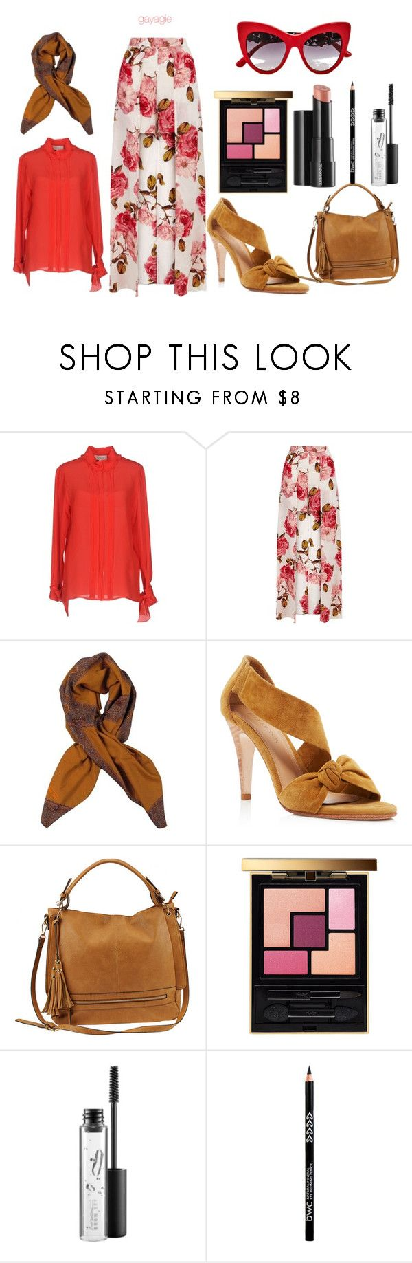 """""""Flowery Office"""" by anggiswastika on Polyvore featuring Paul & Joe, Ulla Johnson, Urban Expressions, Yves Saint Laurent, Arbonne, MAC Cosmetics and Dolce&Gabbana"""