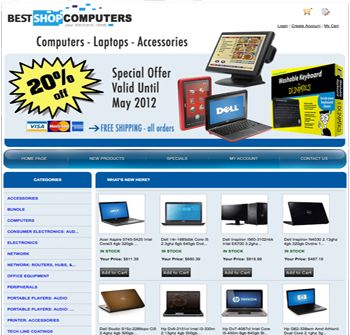 your own computer & accessories website