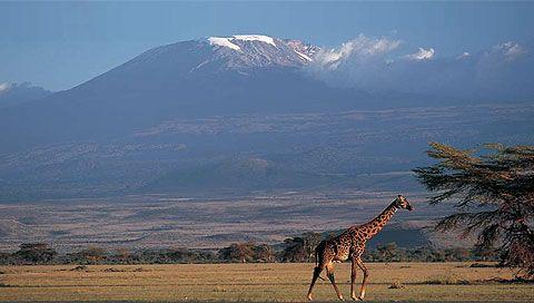 Kilimanjaro from Arusha, Tanzania