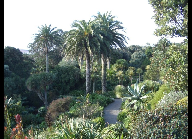 Featuring a diverse range of plants from 80 countries, this tropical garden is hardly typical of the U.K. That's because it's located on Tresco Island, about 30 miles from the Cornish coast. Even in the winter months, exotic flowers are in full bloom at Tresco Abbey Gardens. Photo via Wikimedia Commons License