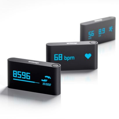 Withings Pulse iti masoara bataile inimii. #fitness
