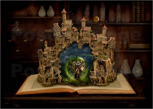 Das Zauberbuch im Fantasieland