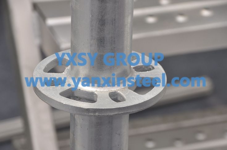 Layher #scaffolding in every angle to show a three-dimensional form, the whole frame structure more stable.