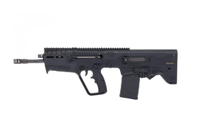 308 Tavor.  The rifle looks interesting. It is like a hybrid between the SAR and X95. The handguard and mag well are reminiscent of an SAR. Even the bolt release is SAR styled. Yet the handguard appears to have MLOK slots. In front of the handguard is what looks like an adjustable gas block. The magazine release is similar to the X95. The rear of this new .308 Tavor looks odd with such a flat stock. As if it was chopped in photoshop. I suspect the barrel will be 18″ giving the rifle a…