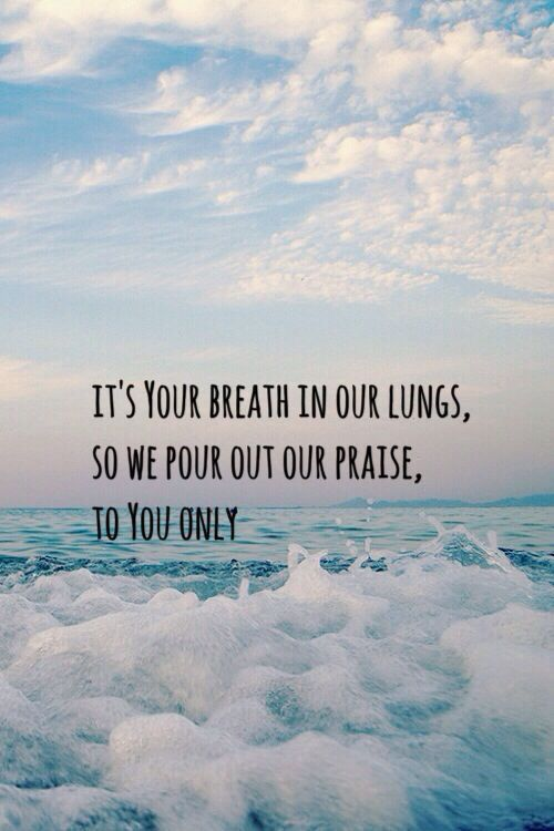 Lyrics to Great Are You Lord - All Sons & Daughters. It's Your breath in our lungs.