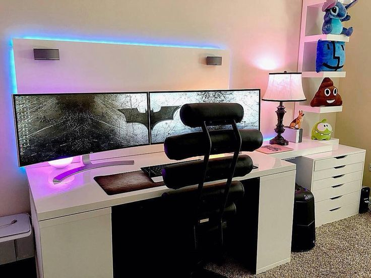 25 best ideas about gaming setup on pinterest pc gaming How to make a gaming setup in your room