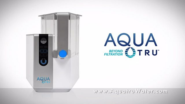 Water purification breakthrough revealed: AquaTru countertop water purifier removes 128 toxic chemicals, fluoride, heavy metals and more