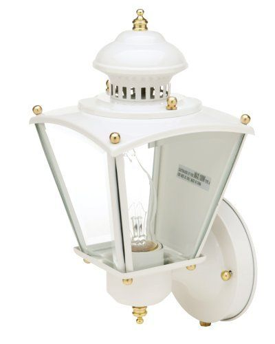 Designers Edge L-2551WH 15-1/2-Inch Photocell Dusk to Dawn Coach Lantern, White by Designers Edge. Save 2 Off!. $31.89. From the Manufacturer                The Designers Edge is an international manufacturer and marketer of worklights, motion activated lighting, floodlighting, security lighting products, and landscape lighting products. Since 1987, we have built our reputation as an innovator of high quality, uniquely designed products. We have been recognized as a leader in our indus...