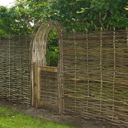 Image result for wattle fence
