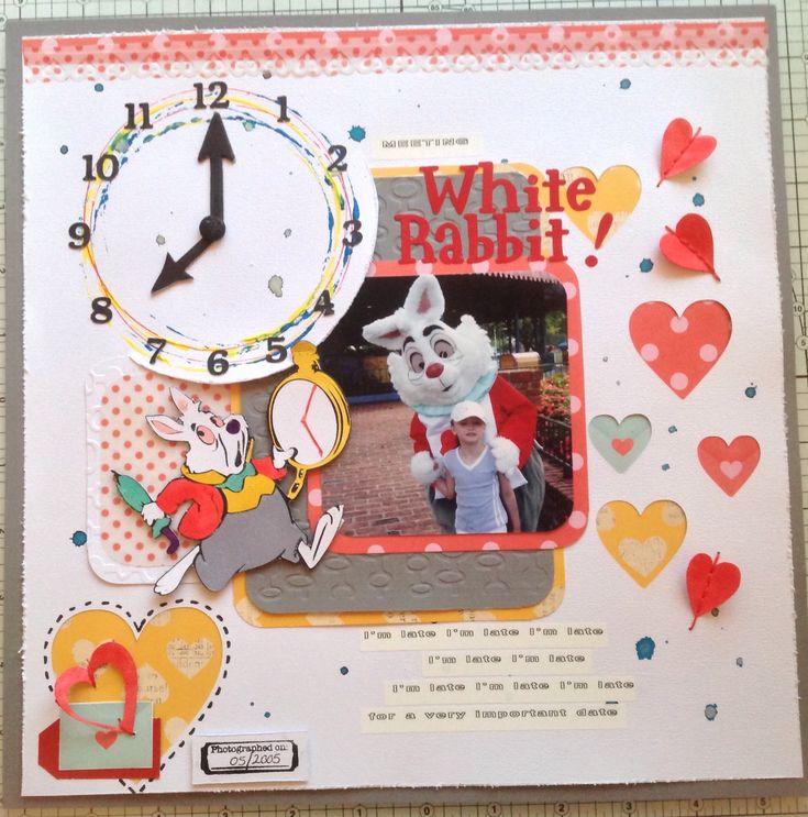 Meeting whit rabbit - Scrapbook.com